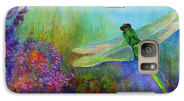 Green Dragonfly Galaxy S7 Case