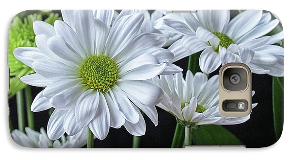 Galaxy Case featuring the photograph Green Eyed Daisy by Bonnie Willis