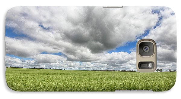 Galaxy Case featuring the photograph Green Fields 2 by Douglas Barnard