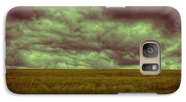 Galaxy Case featuring the photograph Green Fields 3 by Douglas Barnard
