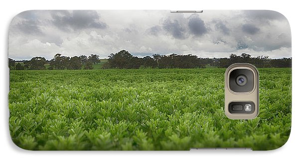 Galaxy Case featuring the photograph Green Fields 4 by Douglas Barnard