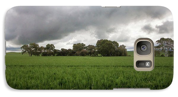 Galaxy Case featuring the photograph Green Fields 5 by Douglas Barnard