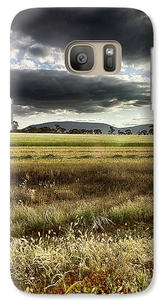 Galaxy Case featuring the photograph Green Fields 6 by Douglas Barnard