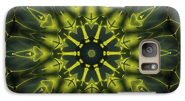Succulent Mandala Galaxy S7 Case by Yulia Kazansky