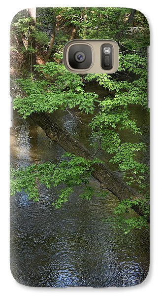 Galaxy Case featuring the photograph Green Is For Spring by Skip Willits
