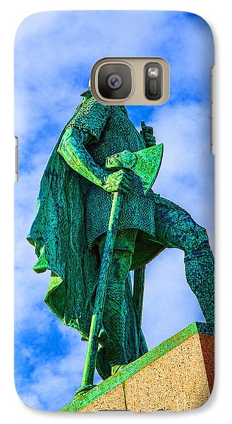 Galaxy Case featuring the photograph Green Leader by Rick Bragan
