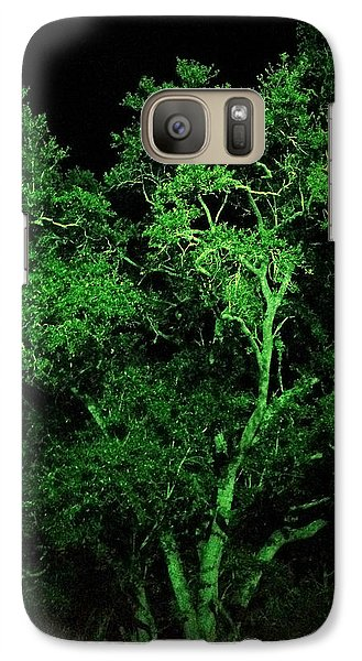 Galaxy Case featuring the digital art Green Magic by Doug Kreuger