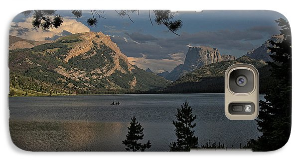 Galaxy Case featuring the photograph Green River Lake by Ron Chilston