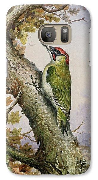 Green Woodpecker Galaxy S7 Case