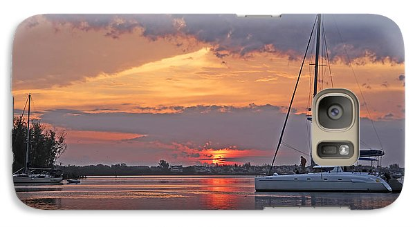 Galaxy Case featuring the photograph Greet The Day by HH Photography of Florida