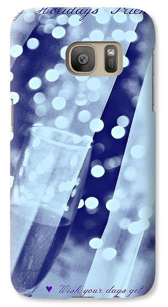 Galaxy Case featuring the photograph Greetings by Rima Biswas