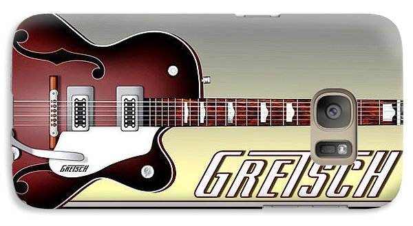 Galaxy Case featuring the photograph Gretsch Guitar by Anthony Citro