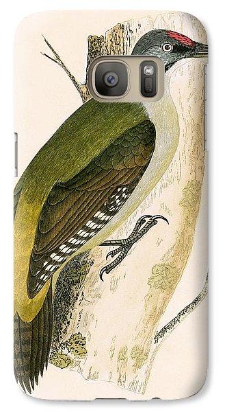 Grey Woodpecker Galaxy S7 Case