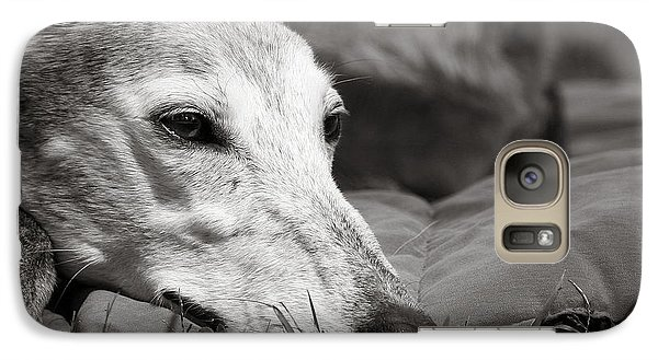 Galaxy Case featuring the photograph Greyful by Angela Rath