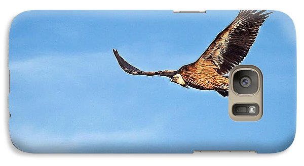 Galaxy Case featuring the photograph Griffon Vulture by Meir Ezrachi