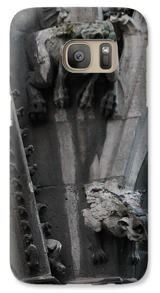 Galaxy Case featuring the photograph Griffons by Christopher Kirby