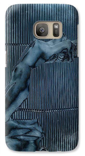 Galaxy Case featuring the digital art Grill Of The Ride by Greg Sharpe