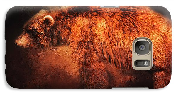 Galaxy Case featuring the photograph Grizzly Bear  by Toni Hopper