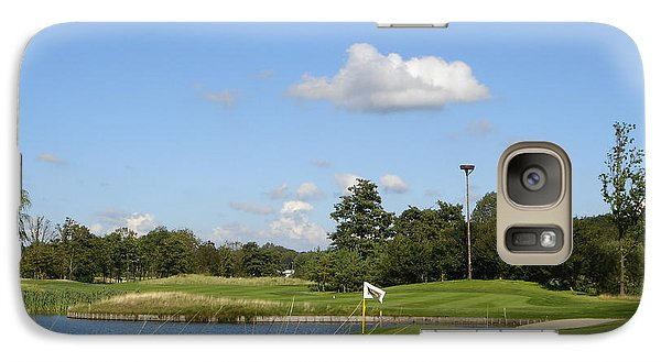 Galaxy Case featuring the photograph Groendael Golf The Netherlands by Jan Daniels