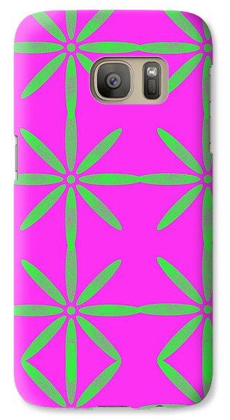 Groovy Flowers Galaxy S7 Case