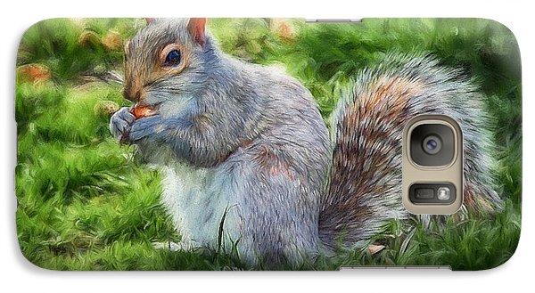 Galaxy Case featuring the photograph Ground Squirrel by Pennie  McCracken