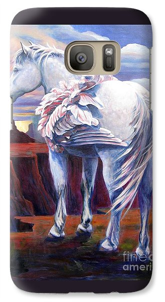 Galaxy Case featuring the painting Grounded by Pat Burns