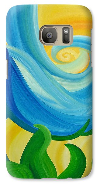 Galaxy Case featuring the painting Growth by Ginny Gaura