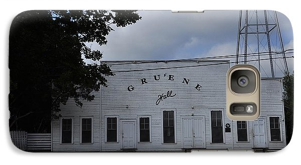 Galaxy Case featuring the photograph Gruene  by Helen Haw