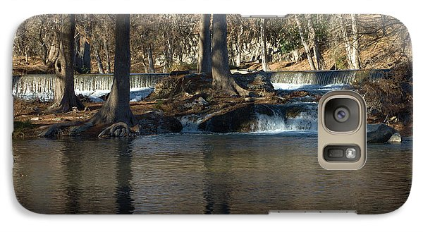 Galaxy Case featuring the photograph Guadalupe Overflows by Karen Musick