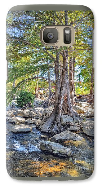 Galaxy Case featuring the photograph Guadalupe River by Savannah Gibbs