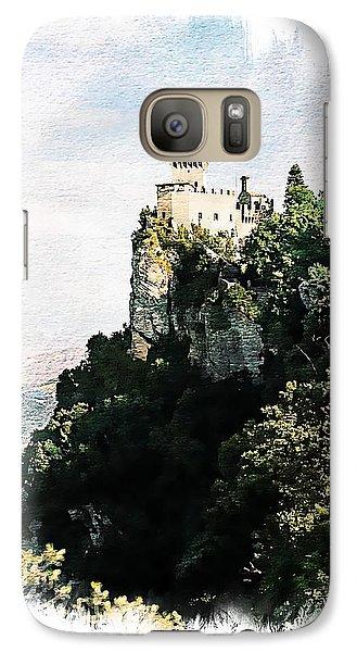Galaxy Case featuring the photograph Guaita Castle Fortress by Joseph Hendrix