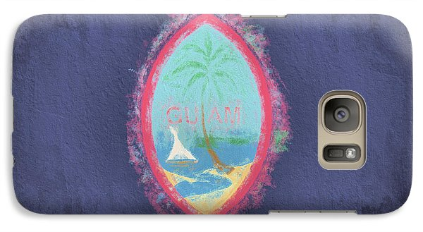 Galaxy S7 Case featuring the digital art Guam Flag by JC Findley