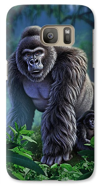 Gorilla Galaxy S7 Case - Guardian by Jerry LoFaro