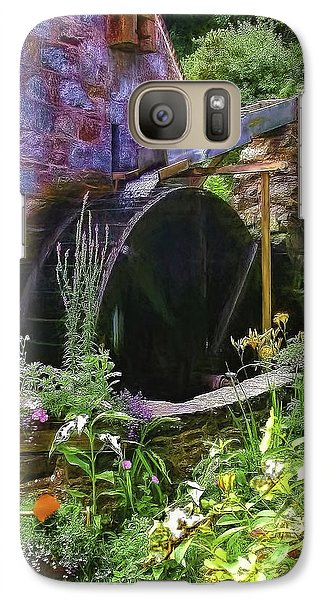 Guernsey Moulin Or Waterwheel Galaxy S7 Case