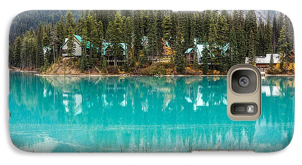 Galaxy Case featuring the photograph Emerald Lake by Pierre Leclerc Photography
