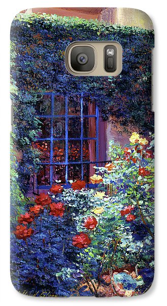 Beverly Hills Galaxy S7 Case - Guesthouse Rose Garden by David Lloyd Glover