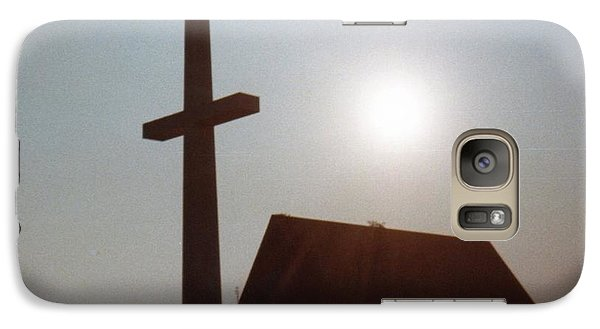 Galaxy Case featuring the photograph Guiding Light by Betty Northcutt