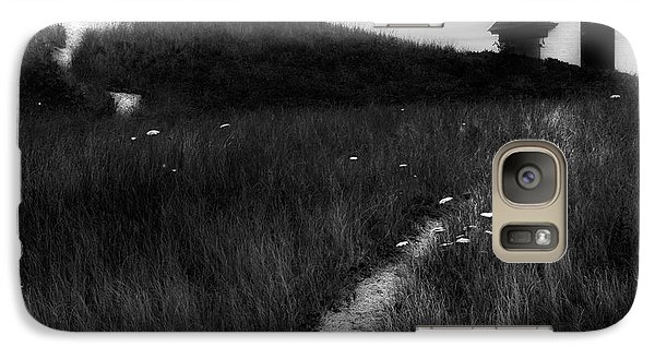 Galaxy S7 Case featuring the photograph Guiding Light Square by Bill Wakeley