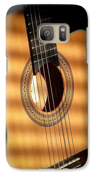 Galaxy Case featuring the photograph Guitar  by Eleanor Abramson