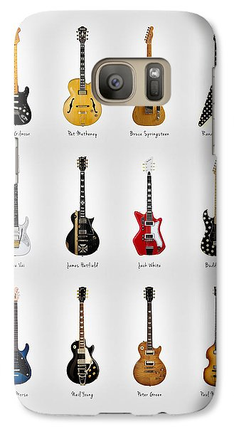 Guitar Icons No2 Galaxy Case by Mark Rogan