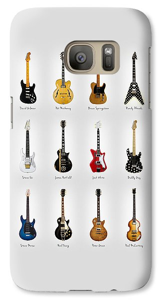 Guitar Icons No2 Galaxy S7 Case by Mark Rogan