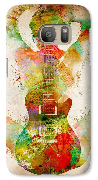 Bass Galaxy S7 Case - Guitar Siren by Nikki Smith