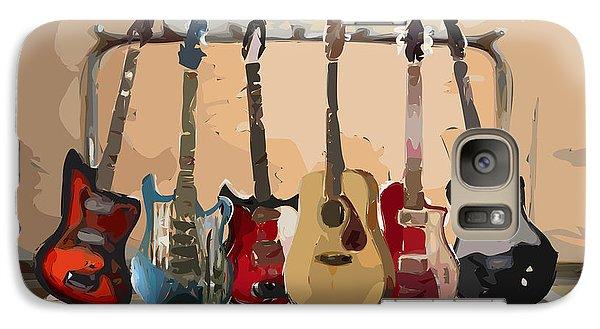 Guitars On A Rack Galaxy S7 Case
