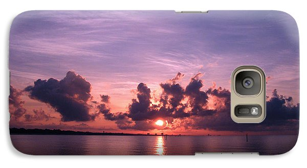 Galaxy Case featuring the photograph Gulf Coast Sunrise by Brian Wright