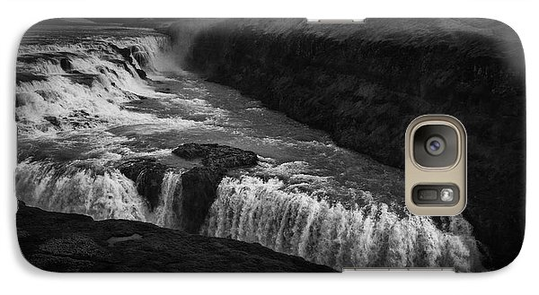 Galaxy Case featuring the photograph Gullfoss Waterfall by Nancy Dempsey