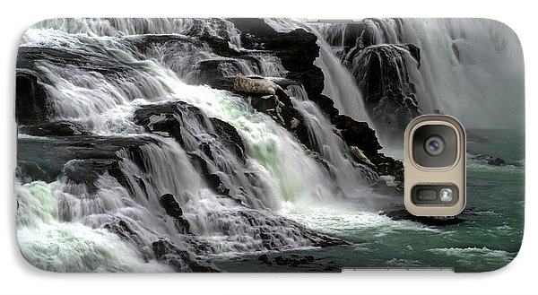 Gullfoss Waterfalls, Iceland Galaxy S7 Case