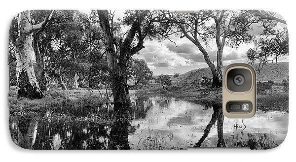 Galaxy Case featuring the photograph Gum Creek by Douglas Barnard