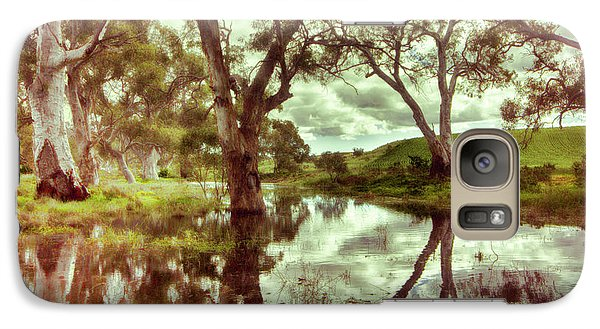 Galaxy Case featuring the photograph Gum Creek V2 by Douglas Barnard