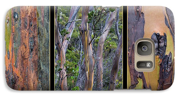 Gum Trees At Lake St Clair Galaxy S7 Case by Werner Padarin