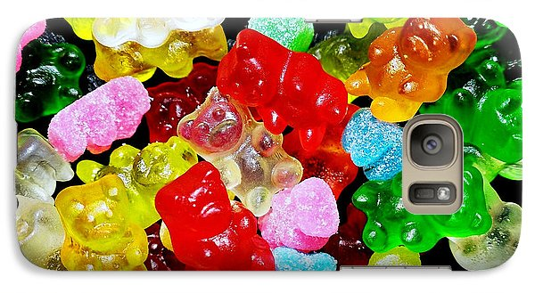 Galaxy Case featuring the photograph Gummy Bears by Vivian Krug Cotton
